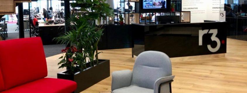 R3's London office